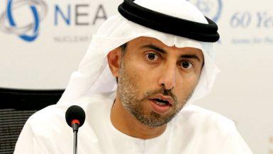سهيل المزروعى وزير الطاقة الإماراتى