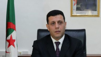 وزير السياحة الجزائرى ياسين حمادى