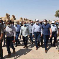 """رئيس الوزراء: إقامة احتفالية ترويج لـ""""الأقصر"""" على هامش الانتهاء من إعادة إحياء """"طريق الكباش"""""""