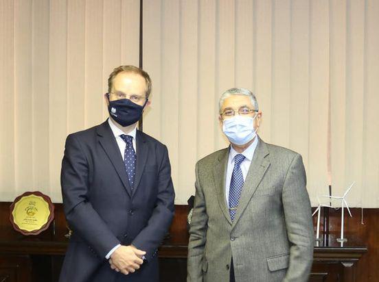 «بريطانيا» ترغب فى زيادة التعاون مع مصر بمشروعات الطاقة المتجددة