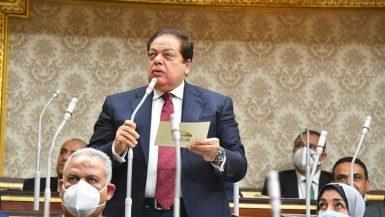 وكيل مجلس النواب محمد أبو العينين