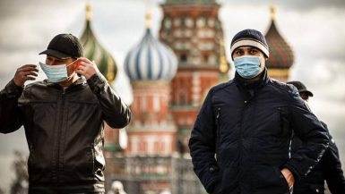 روسيا ؛ فيروس كورونا