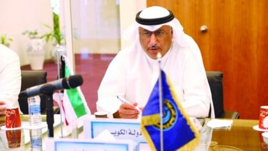 وزير النفط الكويتى محمد الفارس